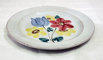 アラビア 花柄プレート