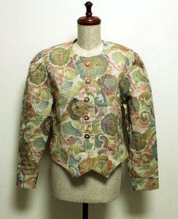 ゴブラン織り チロリアンジャケット