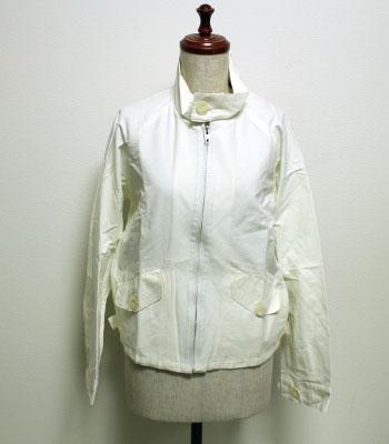 ホワイト グレンフェル ハリントンジャケット