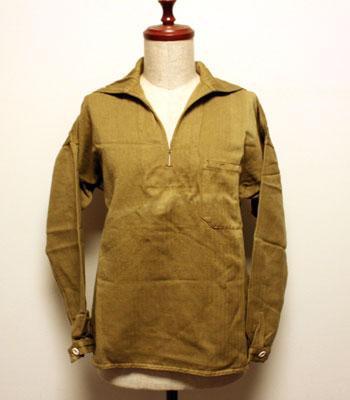 デッドストック スペイン軍 セーラーシャツ