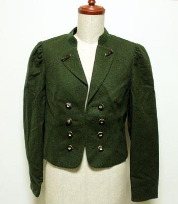 深緑 チロリアンジャケット