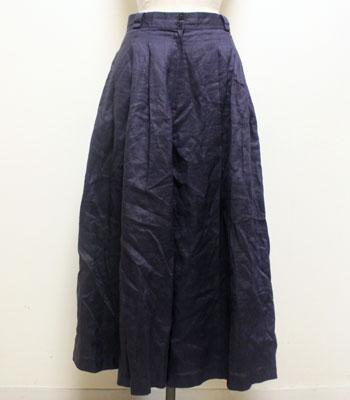 パープル キュロットスカート