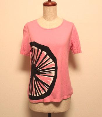 ピンク マリメッコ Tシャツ